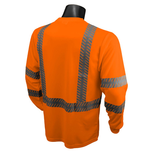 Hi-Vis Orange Class 3 Safety T-Shirt with RAD-SHADE® UV Protection *Custom Printing Available*