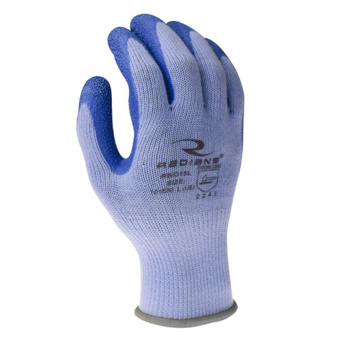 Crinkle Latex Palm Coated Glove
