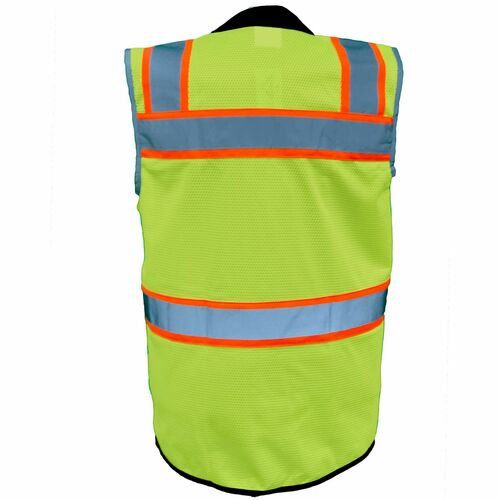 ANSI Class 2 Safety Vest with Solid Bottom |