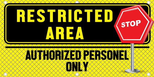 Restricted Area Authorized Personnel Only