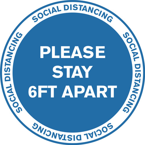no Residue Keep 6-Foot Social Distancing Floor Decals Non-Slip and Scratch-Resistant Carpet Stickers for Social Distancing. Social Distancing Floor Stickers Social Distancing Floor Signs 3pcs