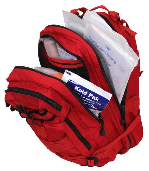 Rothco Military Medical Trauma Kit Red | Rothco 1105 Red