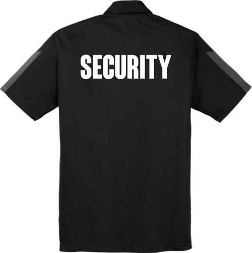 Snag Resistant Moisture Wicking Security Polo