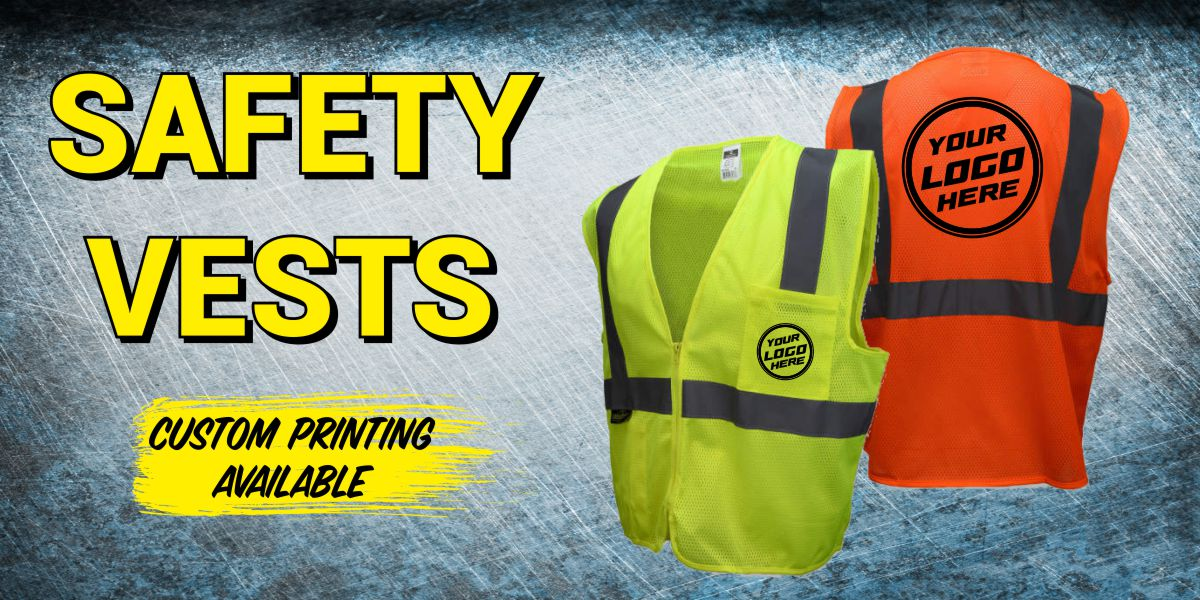 Custom Printed Safety Vests
