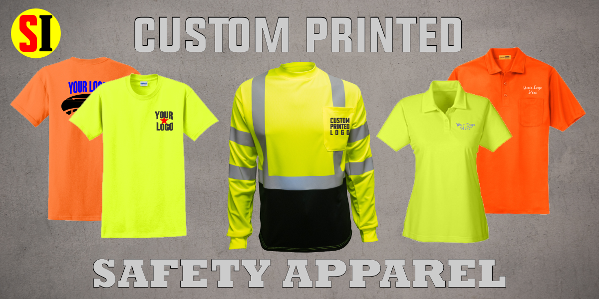 Custom Printed Safety Apparel