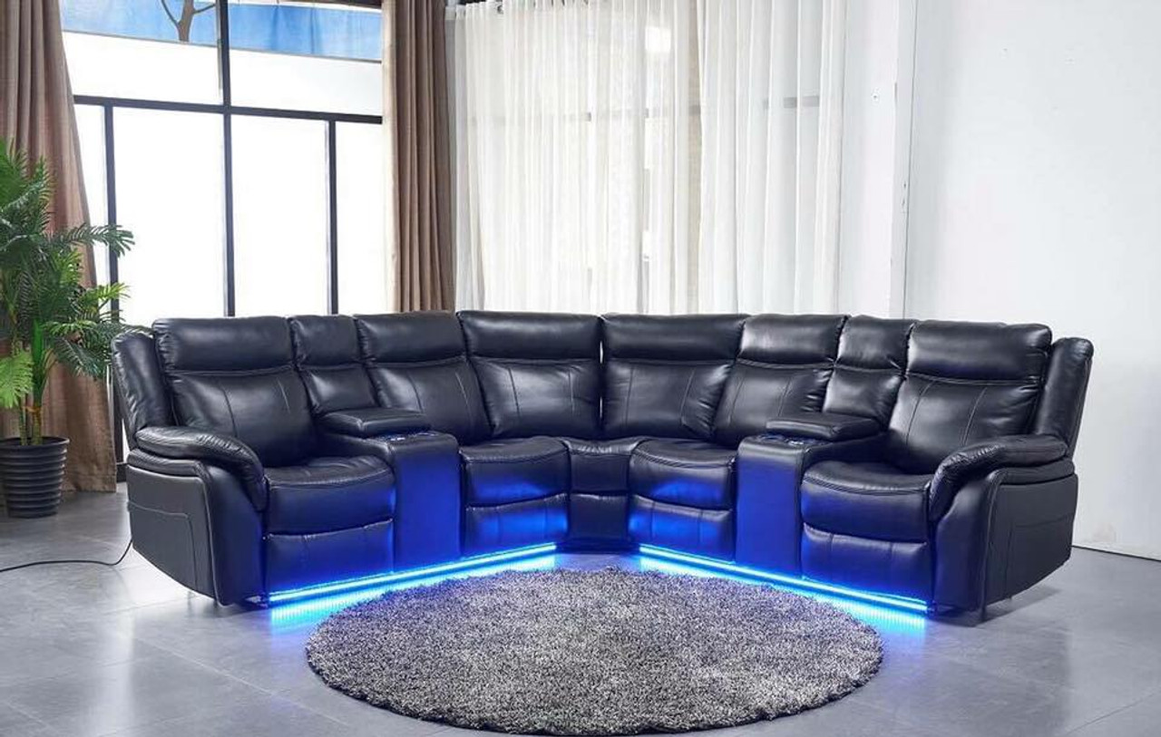 POWER SECTIONAL RECLINER