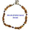 Amber Flea Collar With Speciality Gemstones