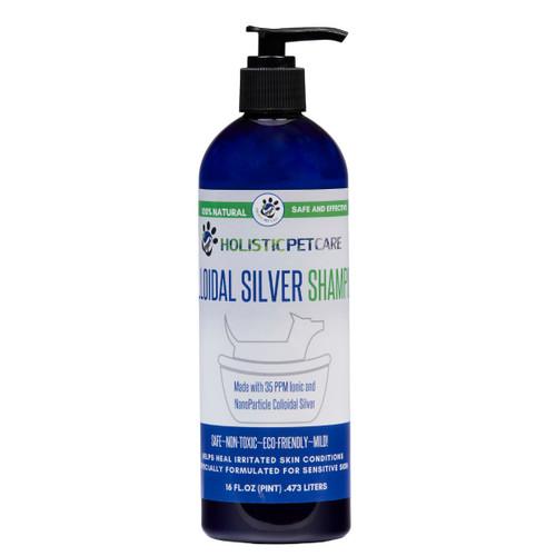 Colloidal Silver Shampoo for Pets- 16oz