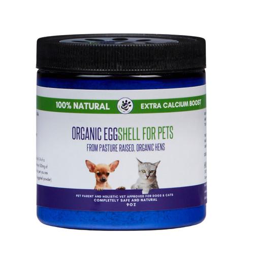Raw Organic Eggshell for Pets