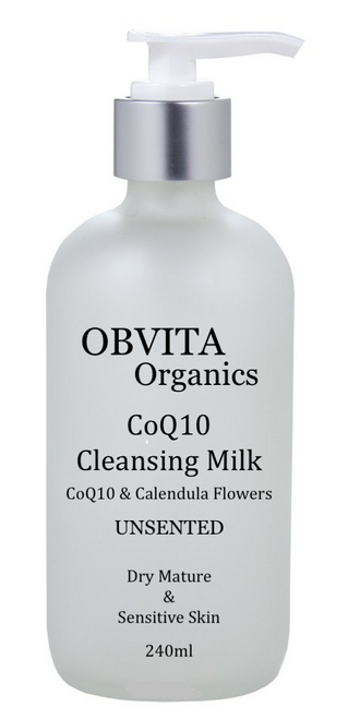 COQ10 CLEANSING MILK UNSCENTED