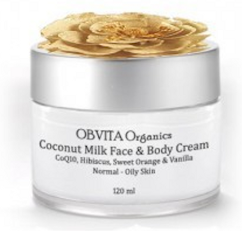 COQ10 COCONUT MILK FACE AND BODY CREAM