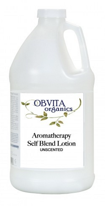Aromatherapy Self-Blend Lotion Unscented 64 oz