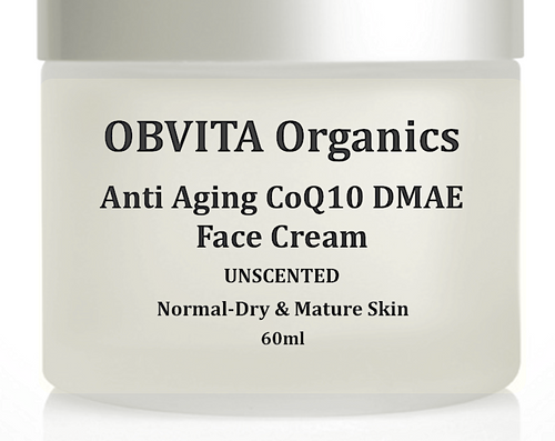ANTI-AGING CoQ10 DMAE FACE CREAM UNSCENTED (sample)