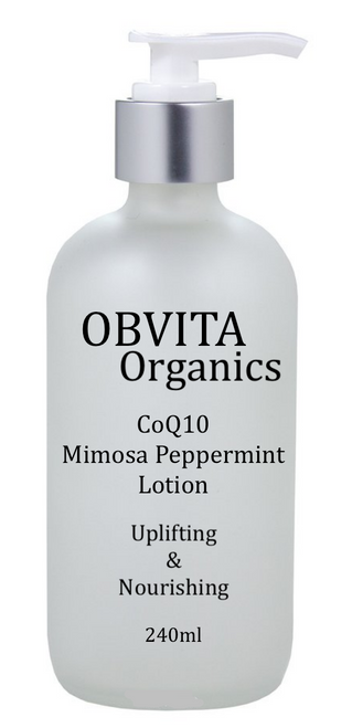 COQ10 MIMOSA PEPPERMINT LOTION