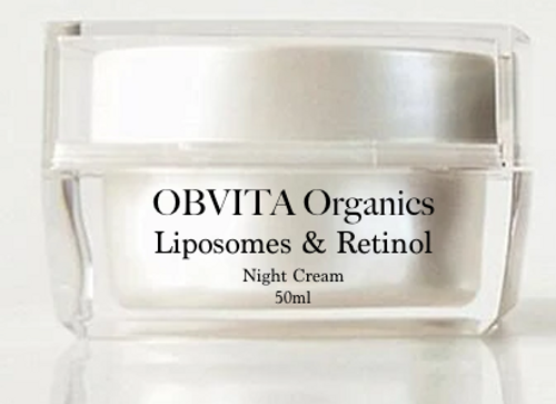 LIPOSOMES & RETINOL NIGHT CREAM-UNSCENTED