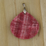 Bamboo View - Side 2 - Pendant -Pink Stone Pendant (1484)