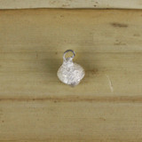Bamboo Top View - Acorn pendant made with .999 Fine Silver (1339)