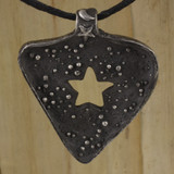 Bamboo Front View -  Birthing your Divine Universe pendant (1361)