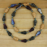 Bamboo View - Owlishness Necklace 24 inches (1379)