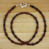 Bamboo View - Koffee Kraze Necklace  on Sterling silver (1382)