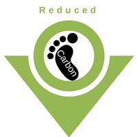 Reducced carbon-icon
