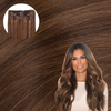 Starlet Brunette Clip In Extensions Cashmere Hair