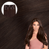 Bel Air Brunette Clip In Hair Extensions Cashmere Hair