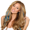 Turquoise Cashmere Hair Colors clip in extensions