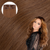 Hollywood Bronzed Brunette Clip In Hair Extensions