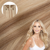 Pale Ash Blonde Cashmere Hair Clip In Extensions