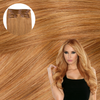 Cashmere Hair Clip In Extensions  Strawberry Blonde