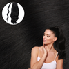 Pure Black Wrap Ponytail Real Human Remy Hair