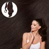Dark BrownWrap Ponytail. Real Human Remy Hair