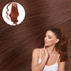 ROXBURY RED Wrap Ponytail Real Human Remy Hair