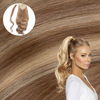 Ash Blonde Wrap Ponytail Extension Real Human Remy Hair Cashmere Hair