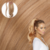 Golden Blonde Real Human Remy Hair Wrap Ponytail Cashmere Hair