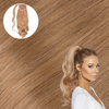 Cashmere Hair Natural Blonde Real Human Remy Hair Wrap Ponytail