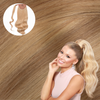 Sunset Blonde Real Human Remy Hair Wrap Ponytail