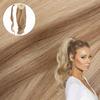 Pale Ash Blonde Real Human Remy Hair Wrap Ponytail