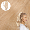 Lightest Blonde Real Human Remy Hair Wrap Ponytail Cashmere Hair