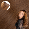Cashmere Hair One Piece Volumizer Hair Extension Hollywood Bronzed Brunette
