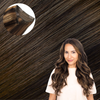 Bombshell Brunette One Piece Volumizer Clip-In Hair Extension Cashmere Hair
