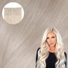 Platinum Blonde Clip In Hair Extensions