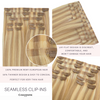 Sunset Blonde Seamless Clip In Hair Extensions by Cashmere Hair
