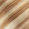 Golden Blonde Seamless Clip In Hair Extensions by Cashmere Hair