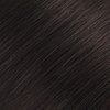 Dark Brown Seamless Clip In Hair Extensions by Cashmere Hair