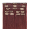 Roxbury Red Seamless Clip In Hair Extensions by Cashmere Hair