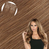 Malibu Blonde Seamless Clip In Hair Extensions by Cashmere Hair