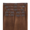 Hollywood Bronzed Brunette Seamless Clip In Hair Extensions by Cashmere Hair