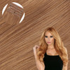 Strawberry Blonde (Copper) Seamless Clip In Hair Extensions by Cashmere Hair